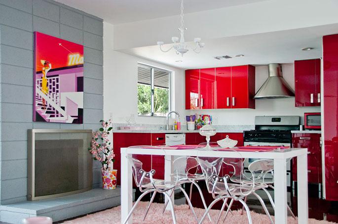 The Pink Door Modern Vacation Home