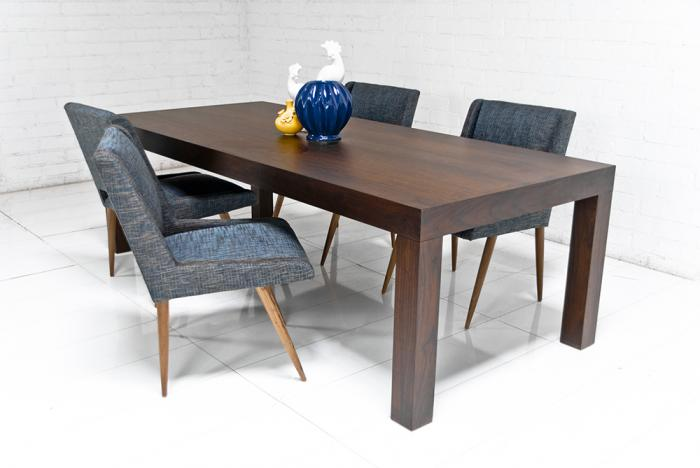 Parsons Dining Table In Walnut