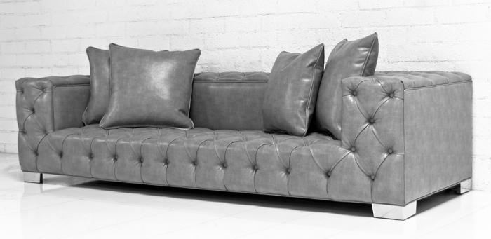 Www Roomservicestore Com Tufted Fat Boy Sofa In Grey