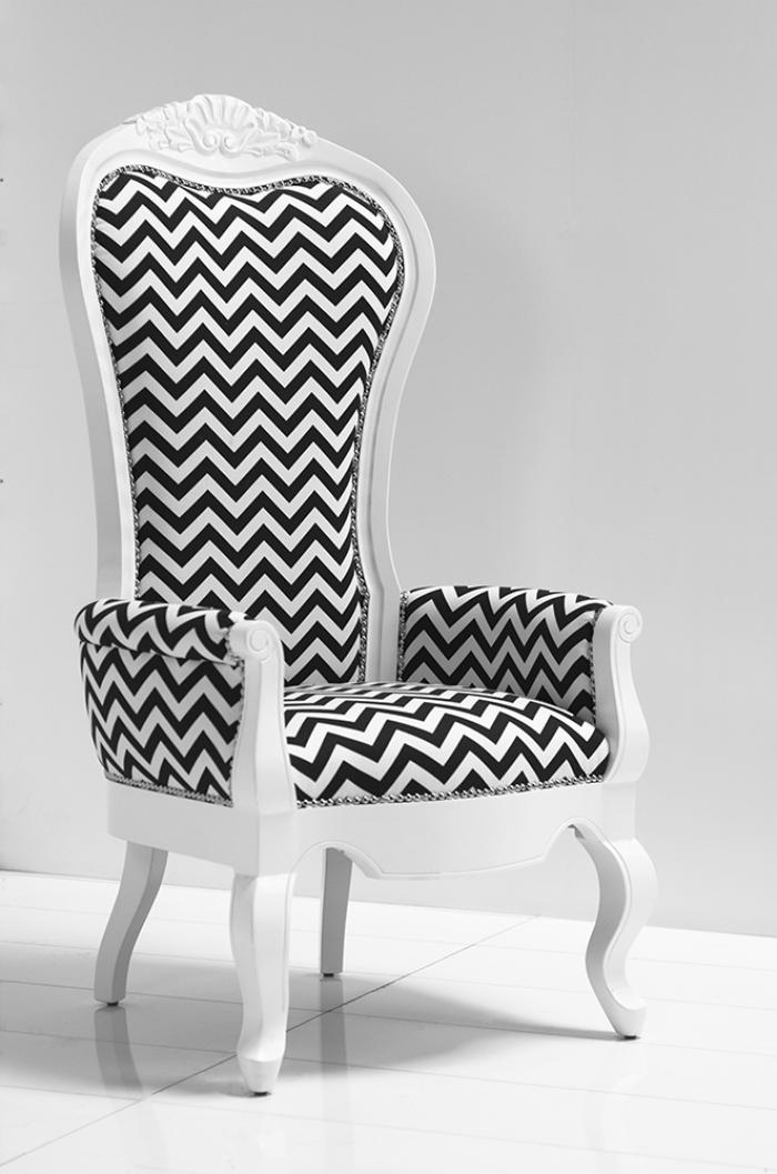 Excellent Roomservicestore Com Riviera Wing Chair In Zig Zag Fabric Short Links Chair Design For Home Short Linksinfo