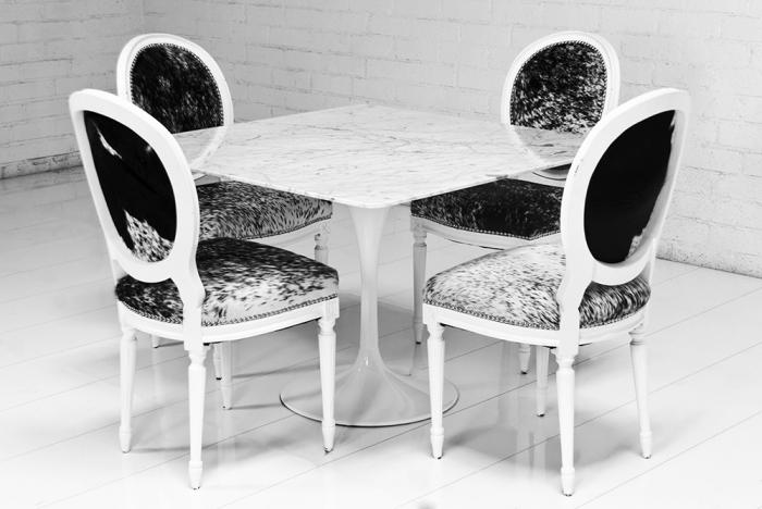 Www Roomservicestore Com Eero Saarinen Style Square Marble Pedestal Dining Table